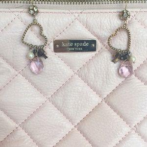 Beautiful Betsey Johnson Heart + Bow Earrings
